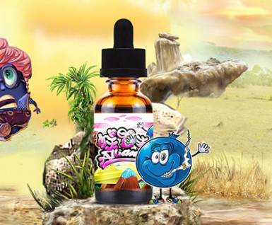 Alliance blueberry ghost e-juice