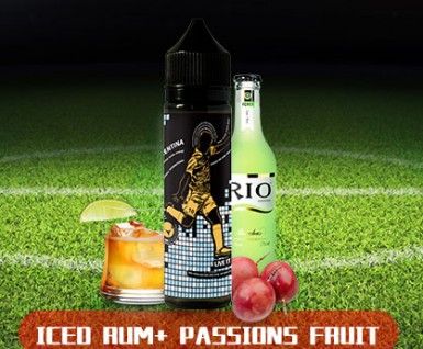 World Cup theme ice juice rum e-juice